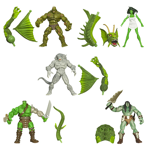 Hulk Marvel Legends Build-A-Figure Wave 1