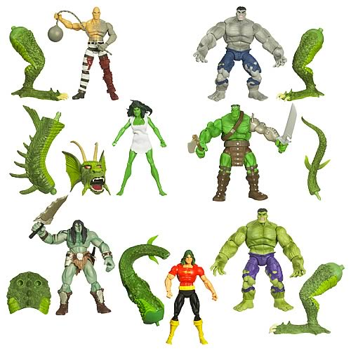Hulk Marvel Legends Build-A-Figure Wave 2 Reivision 1