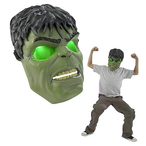 Incredible Hulk Power Glow Mask