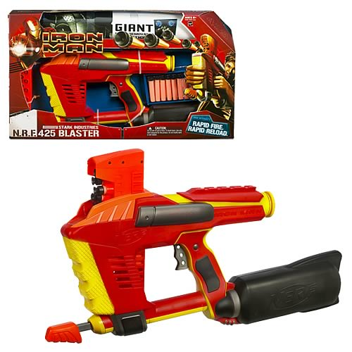 Iron Man Movie Stark Industries N.R.F. 425 Blaster