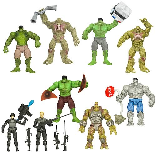 Incredible Hulk Basic Movie Action Figures Wave 3 Revision 1