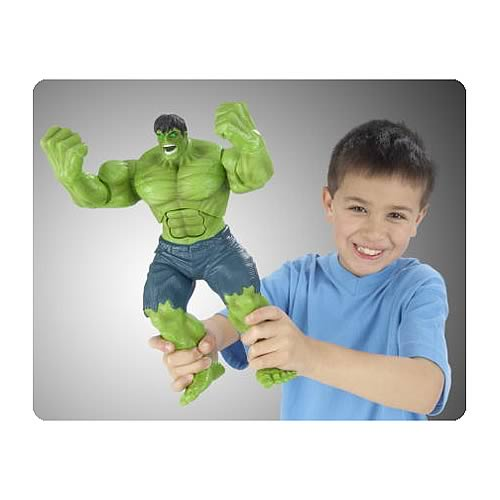 Incredible Hulk Mighty Electronic Action Figure
