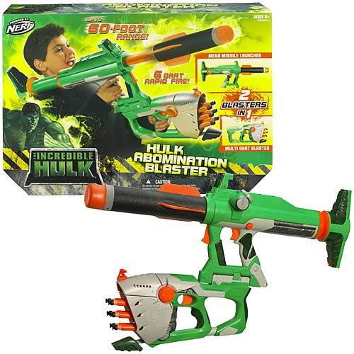 Incredible Hulk Abomination Blaster