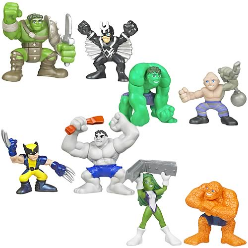 Incredible Hulk Superhero Squad Wave 2 Revision 2