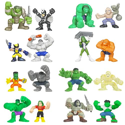 Incredible Hulk Superhero Squad Wave 3 Revision 1