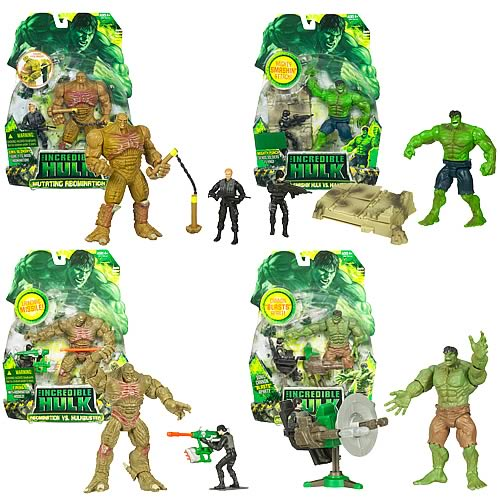 Incredible Hulk Deluxe Movie Action Figures Wave 3 Rev. 1