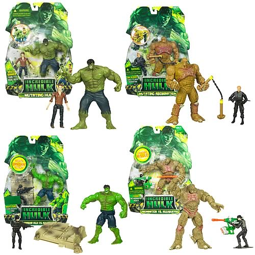 Incredible Hulk Deluxe Movie Action Figures Wave 3 Rev. 2