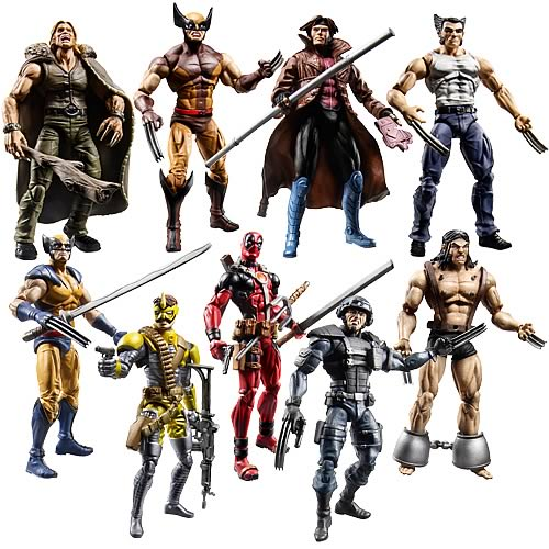 Wolverine Movie Action Figures Wave 1