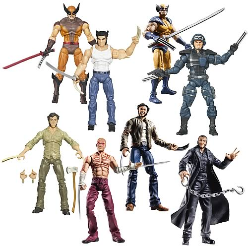 Wolverine Movie Action Figures Wave 2