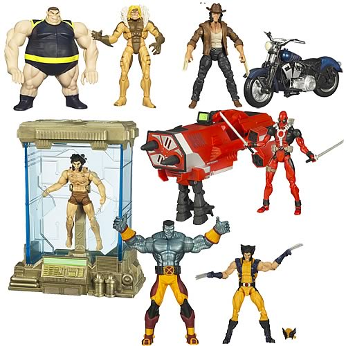 Wolverine Deluxe Action Figures Wave 2