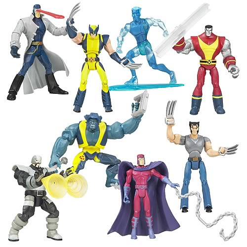 Wolverine and the X-Men Animated Action Figures Wave 1 Case