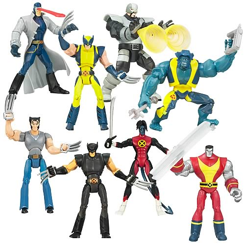 Wolverine Animated Action Figures Wave 2 Revision 1