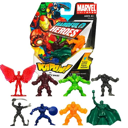 Marvel Handful of Heroes Wave 1 Mini Figures