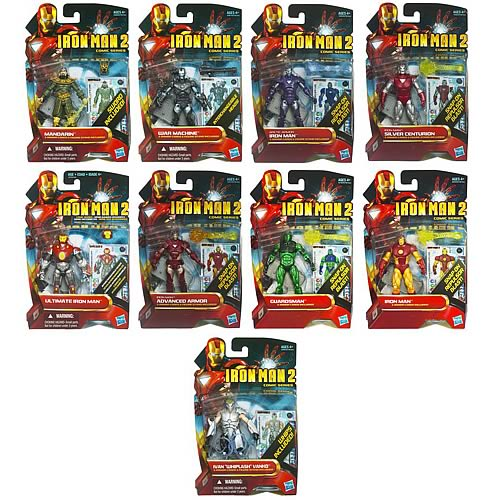 Iron Man 2 Comic Action Figures Wave 4