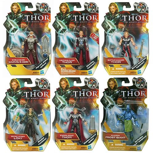 Thor  Movie Basic Action Figures Wave 1