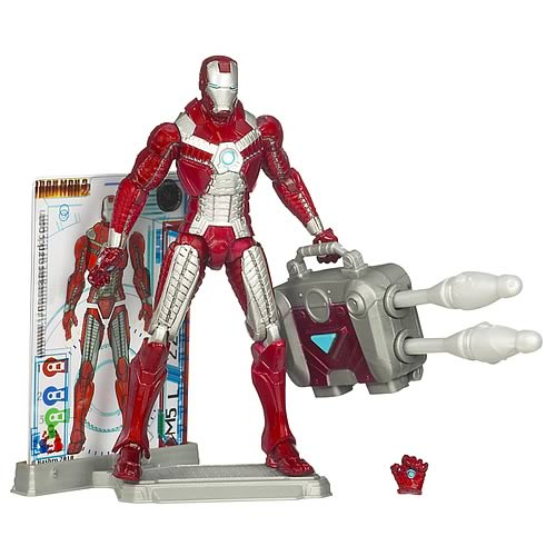 Iron Man 2 Movie Mark V Suitcase Armor Action Figure