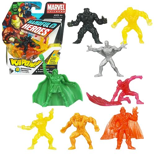 Marvel Handful of Heroes Wave 2 Mini Figures