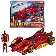 Iron Man 2 Mark IV Red Vortex  Car