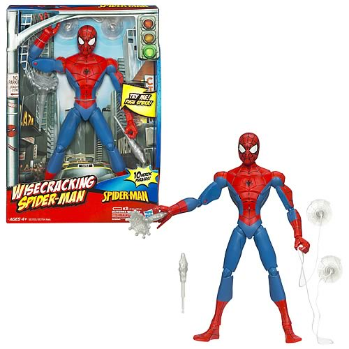 Spectacular Spider-Man Wisecracking Action Figure