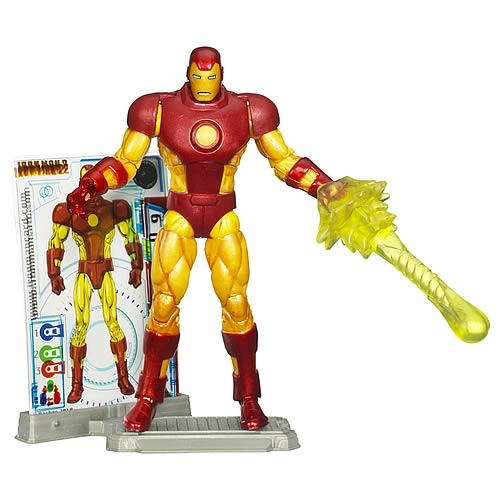 Iron Man Comic Series Comic Book Action Figure