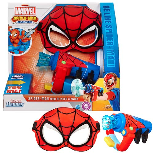 Spider-Man Adventures Web Slinger and Mask Set