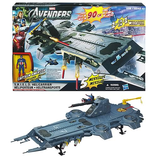 Avengers Movie Series SHIELD Helicarrier Playset