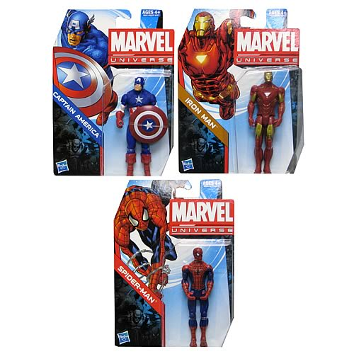 Marvel Universe Core Hero Figures Wave 1 Set
