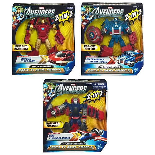 Avengers Transformers Crossovers Wave 1
