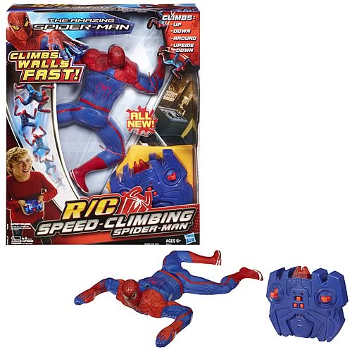 Amazing Spider-Man R/C Speed-Climbing Spider-Man Figure