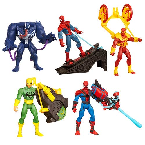 Ultimate Spider-Man Power Webs Action Figures Wave 1