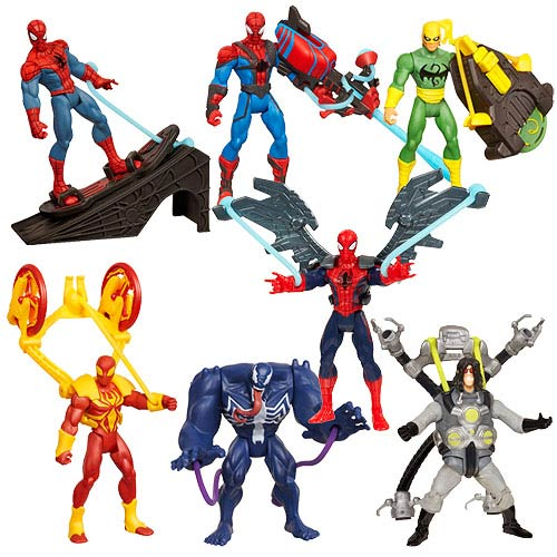 Ultimate Spider-Man Power Webs Action Figures Wave 2
