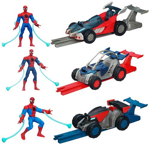 Ultimate Spider-Man Power Webs Racers Vehicles Wave 2