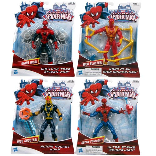 Ultimate Spider-Man Action Figures Wave 1 Case