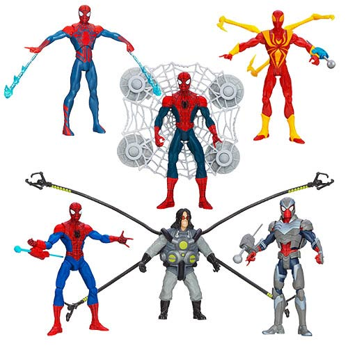Ultimate Spider-Man Action Figures Wave 2 Case
