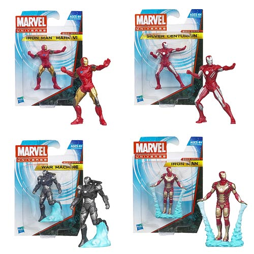 Iron Man 3 EC Mini-Figures Wave 1 Case