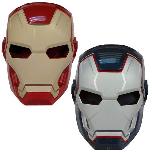 Iron Man 3 Arc FX Glow-In-The-Dark Masks Wave 1 Case