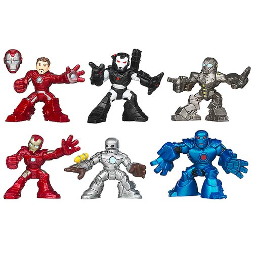 Iron Man 3 Superhero Squad Movie Figures Wave 1 Set