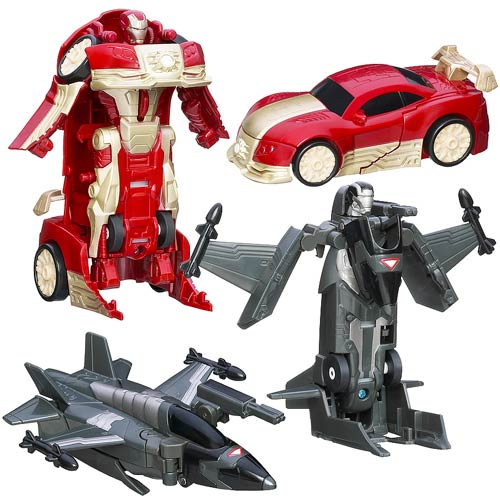 Iron Man 3 Motorized Battle Chargers Wave 1 Set