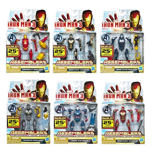Iron Man Movie 3 Assemblers Action Figures Wave 2 Revision 1