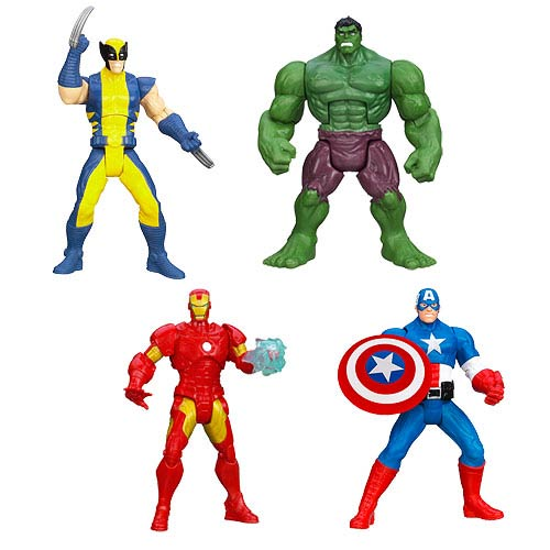 Avengers Assemble Mighty Battlers Action Figures Wave 1