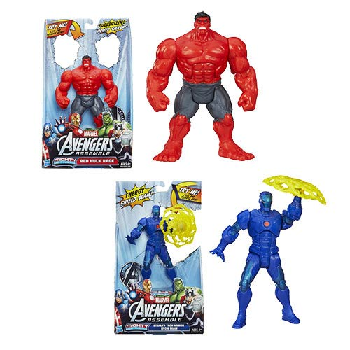 Avengers Assemble Mighty Battlers Action Figures Wave 2 Set