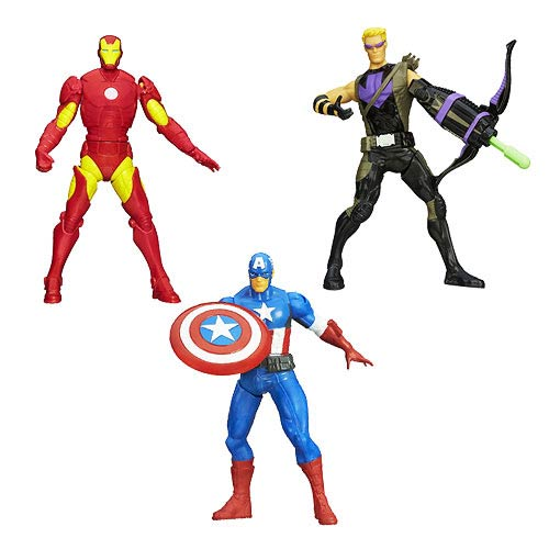 Avengers Assemble Mighty Battlers Action Figures Wave 3