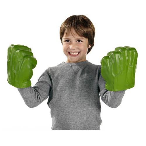 Avengers Assemble Gamma Green Hulk Smash Fists