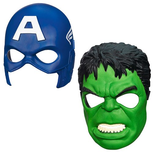 Avengers Assemble Hero Masks Wave 1 Set