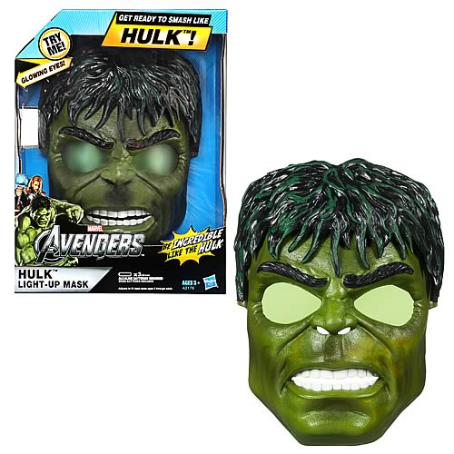 Avengers Hulk Light-Up Mask