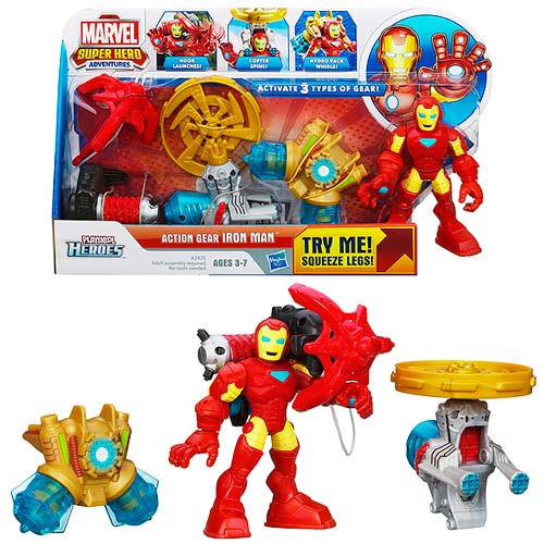 Playskool Action Gear Iron Man Action Figure