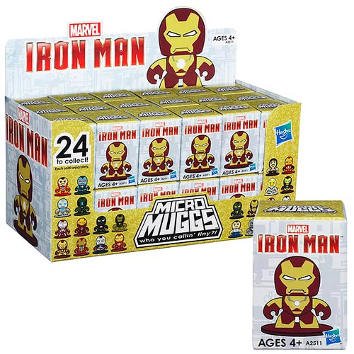 Iron Man 3 Micro Muggs Mini-Figures Series 1 Case