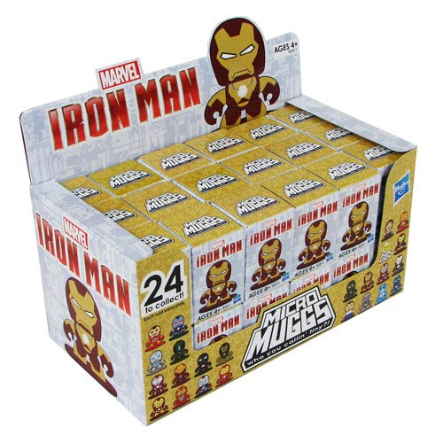 Iron Man 3 Micro Muggs Mini-Figures Series 2 Case