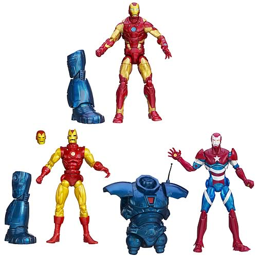 Iron Man 3  Marvel Legends Action Figures Series 1
