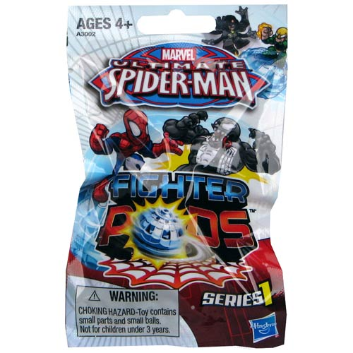 Spider-Man Spider Pods Fighter Pods Blind Bag Series 1 Case